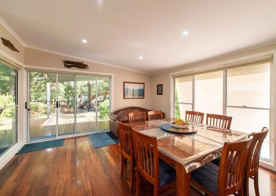 Grampians accommodation - dining