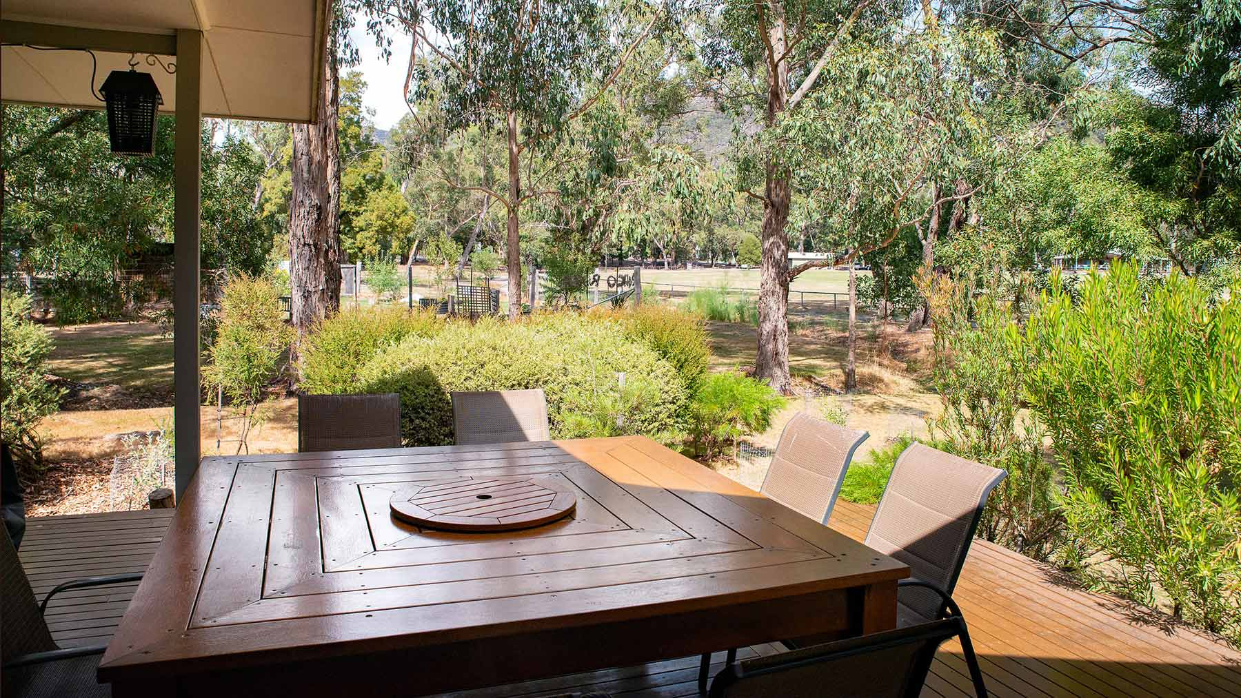 Grampians Cottage - veranda view
